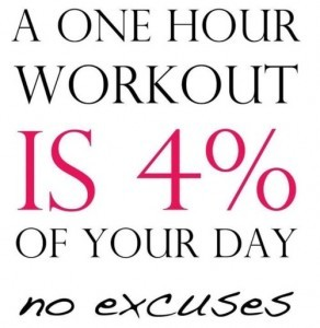 1 Hour of Exercise {Motivation Monday}