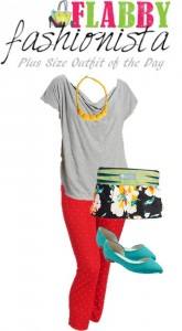 Plus Size Outfit of the Day – Bright and Bold and Floral