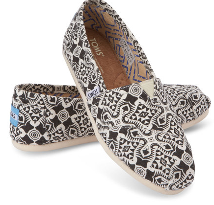 Kaleidoscope Canvas TOMS