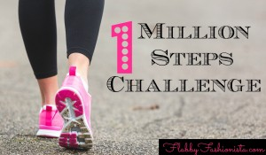 100 Days…1 Million Steps {Take The Challenge}