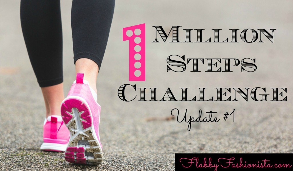 1 million steps challenge update 1