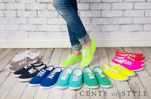 Fashion Friday Deal: Fun Canvas Sneakers $15.95 Shipped