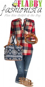 Plus Size Outfit of the Day – Chic and Plaid