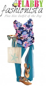 Plus Size Outfit of the Day – Poolside Casual