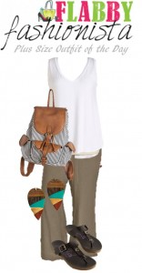 Plus Size Outfit of the Day – Earth Tones