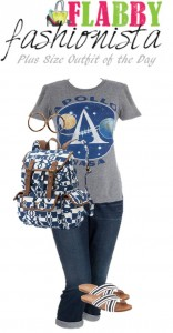 Plus Size Outfit of the Day – Geeky and Casual