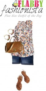 Plus Size Outfit of the Day – Summer Florals