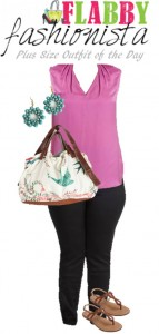 Plus Size Outfit of the Day – Colorful Casual