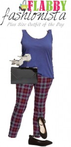 Plus Size Outfit of the Day – Plaid Pants