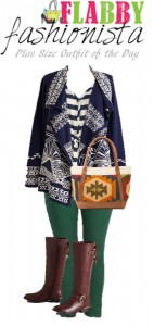 Plus Size Outfit of the Day – Tribal Fall