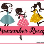 Dressember Recap from Flabby Fashionista