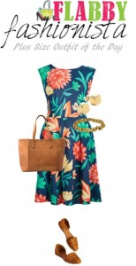 Plus Size Outfit of the Day – Aloha Dress
