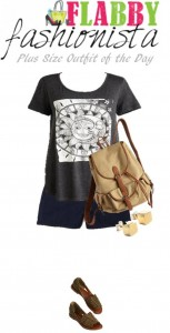 Plus Size Outfit of the Day – Graphic Tee