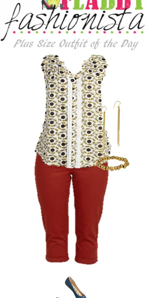 Plus Size Outfit of the Day – Pops of Color