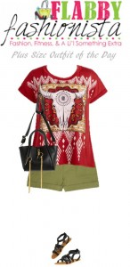 Plus Size Outfit of the Day – Native Tee