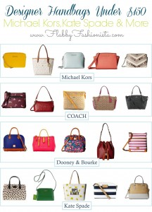 Designer Purses and Handbags for Under $150 Each
