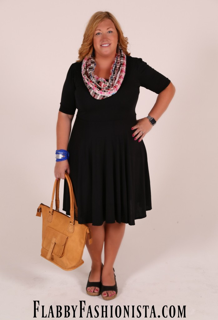 Nicole Dress with Noonday Scarf
