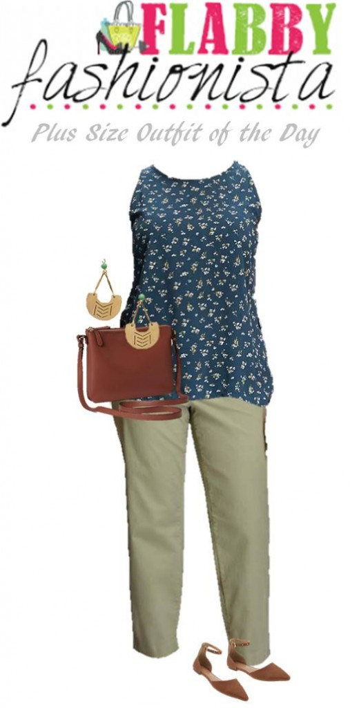 Plus Size Fashion Outfit of the Day August 16, 2016