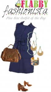 Summer Shirt Dress with Fun Accessories