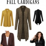 Fall Cardigans are the focus of plus size fashion for fun and functional additions to your wardrobe. Check out our favorites and mix and match this season!