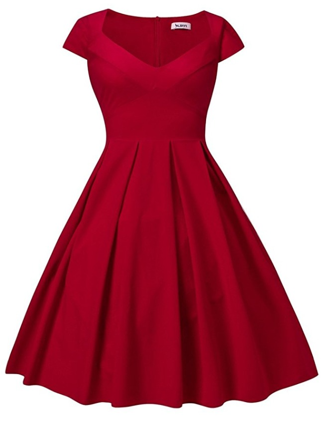 Dilanni Red Plus Size Dress