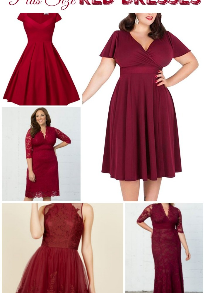 Plus Size Red Dresses