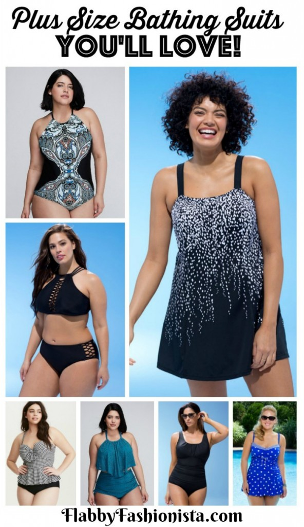 Plus Size Bathing Suits You'll Love (Pinterest)