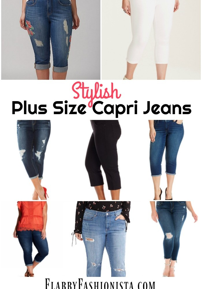 Best Jean Capris: Plus Size Denim Capris for Every Occasion