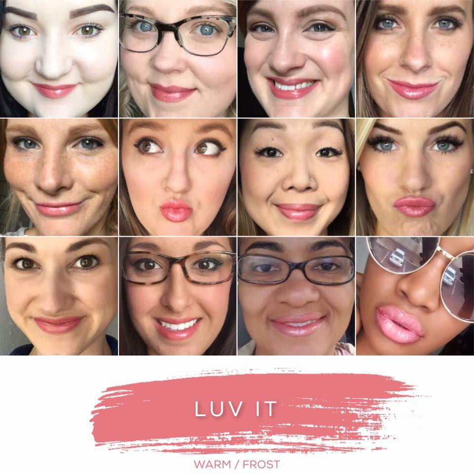 Luv It Lipsense Collage
