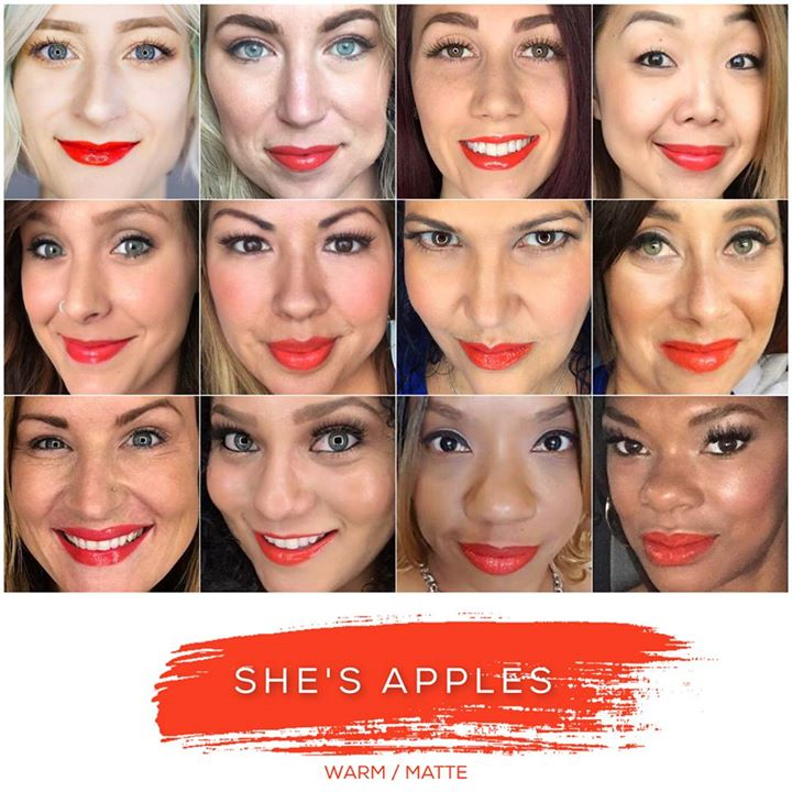She's Apples Lipsense Collage
