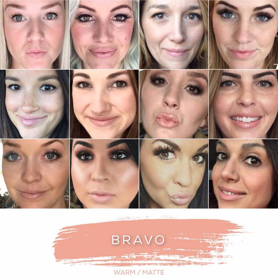 bravo lipsense collage