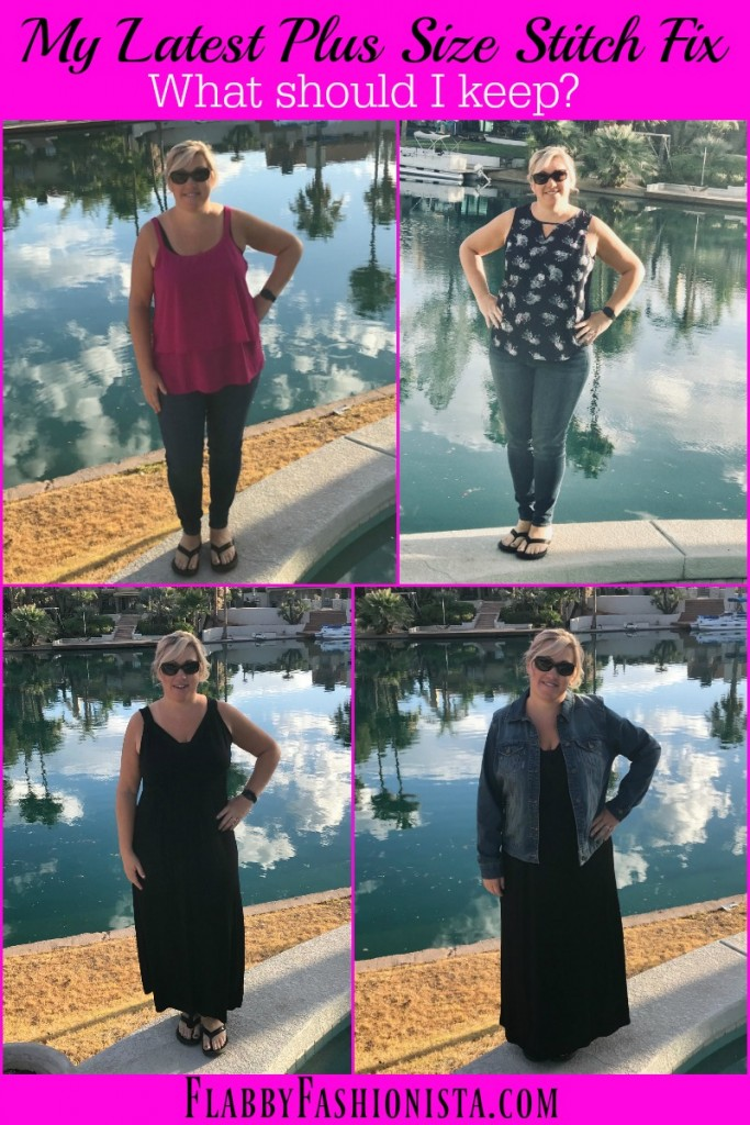 Stitch Fix Plus Size Clothing Box Review