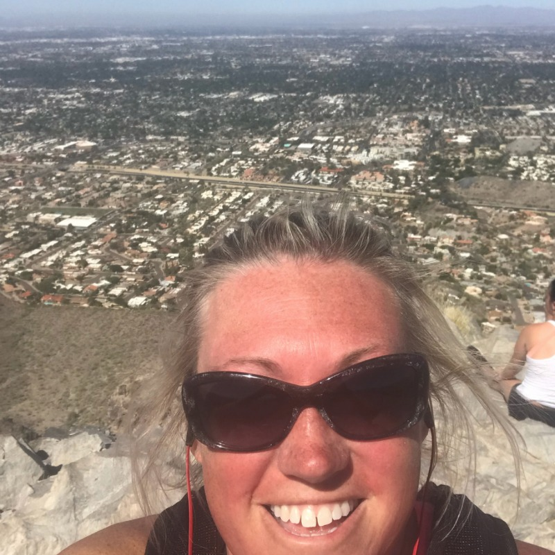 Top of Piestewa Peak