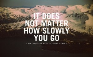 Do Not Stop {Motivation Monday}