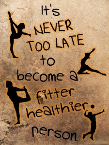 It's Never Too Late {Motivation Monday}