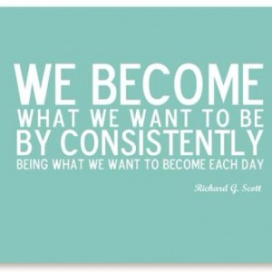 Be Consistent {Motivation Monday}