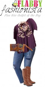 Plus Size Outfit of the Day – Seeing Purple