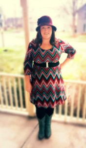 Dressember: Day 2 {Plus Sized Outfit of the Day}