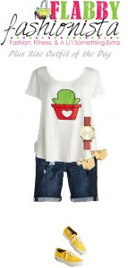 Plus Size Outfit of the Day – Casual Cactus