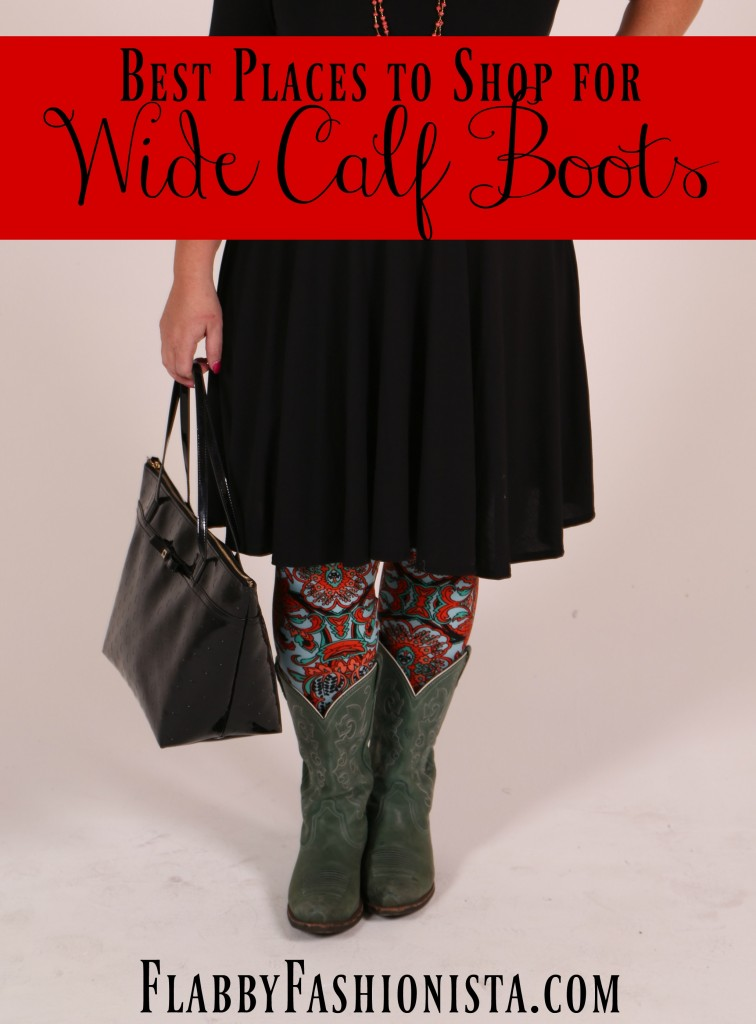 Have you ever wished you could find boots that would fit your calves? Wish no more! Here are some of the best places to find Wide Calf Boots and Extra Wide Calf Boots!
