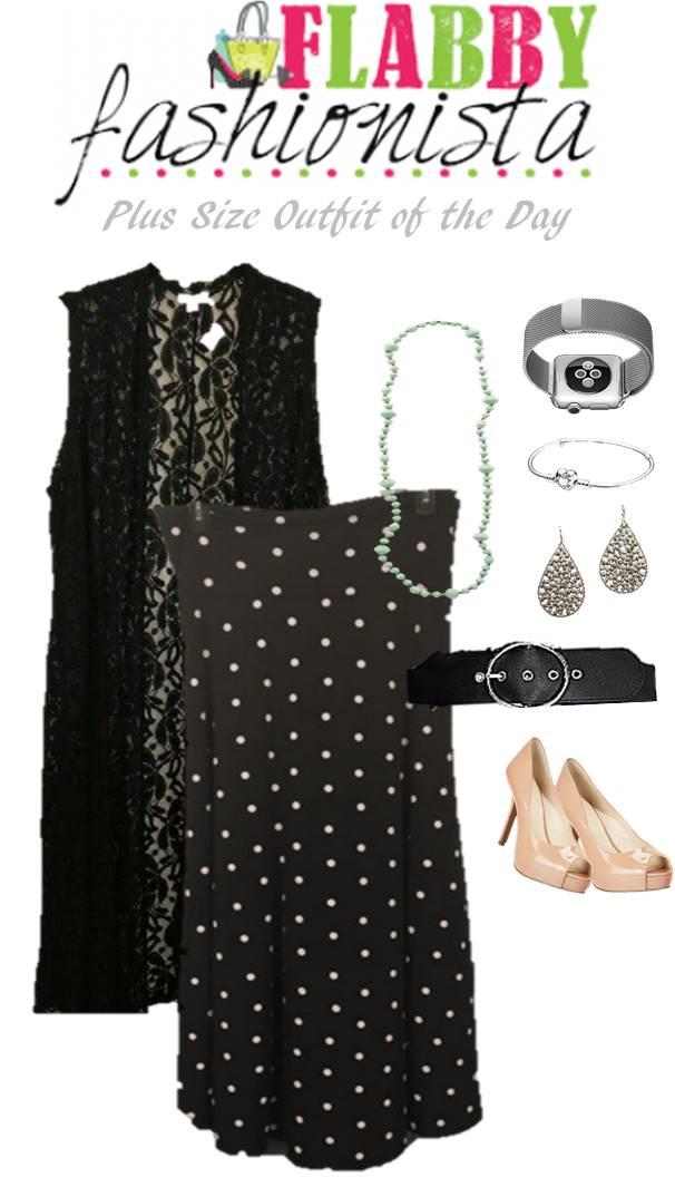 6ab595c6274 LuLaRoe Maxi Skirt Worn As A Dress  OOTD - Flabby Fashionista - Plus ...