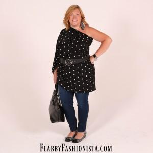 Plus Size Maxi Skirt Worn as a Shirt #OOTD