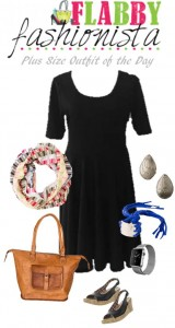 LuLaRoe Nicole Dress & Noonday Infinity Scarf