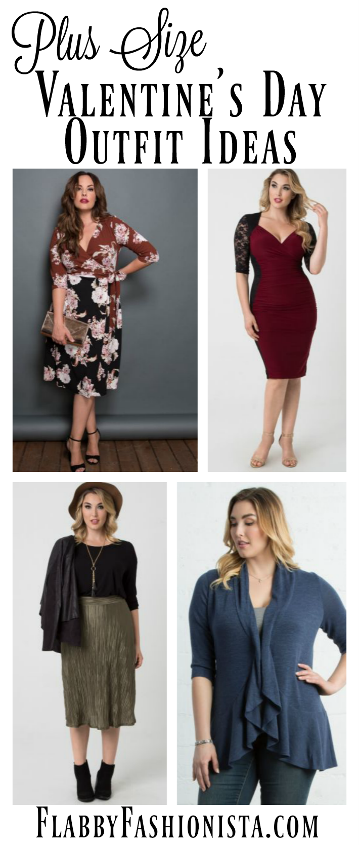 Plus Size Valentine Day Outfits Women Will Look & Feel Great In