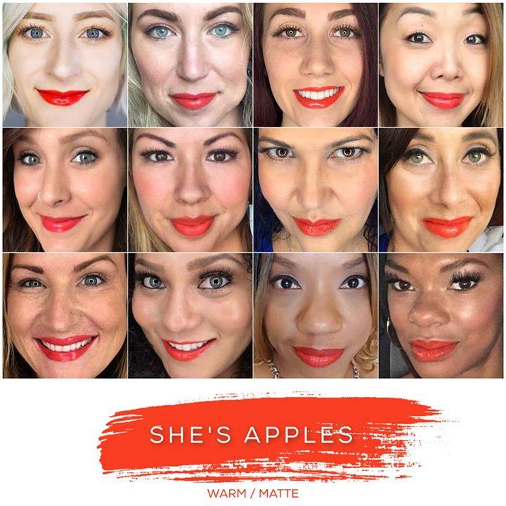 She's Apples Lipsense Collage