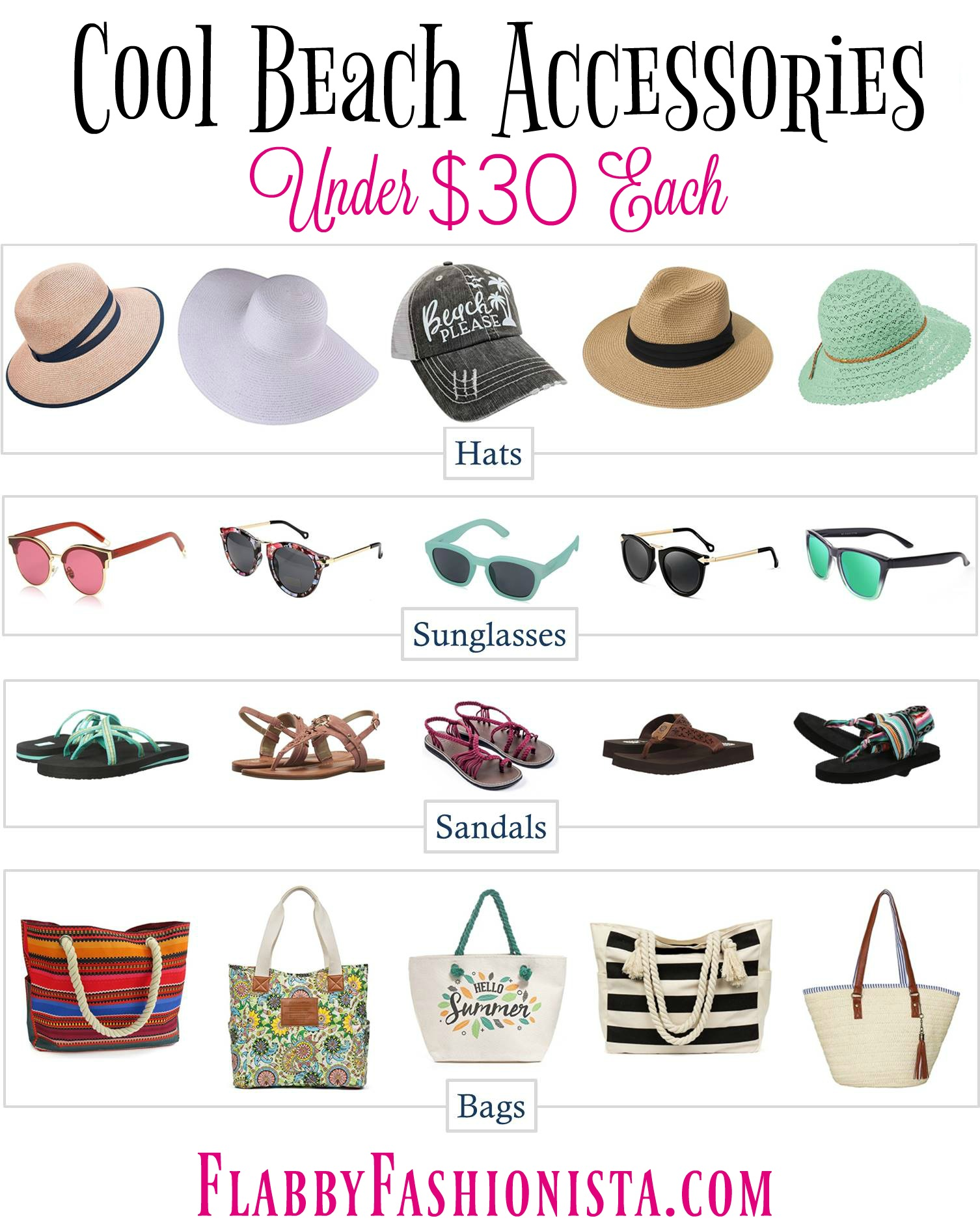 Cool Beach Accessories Under $30 Each