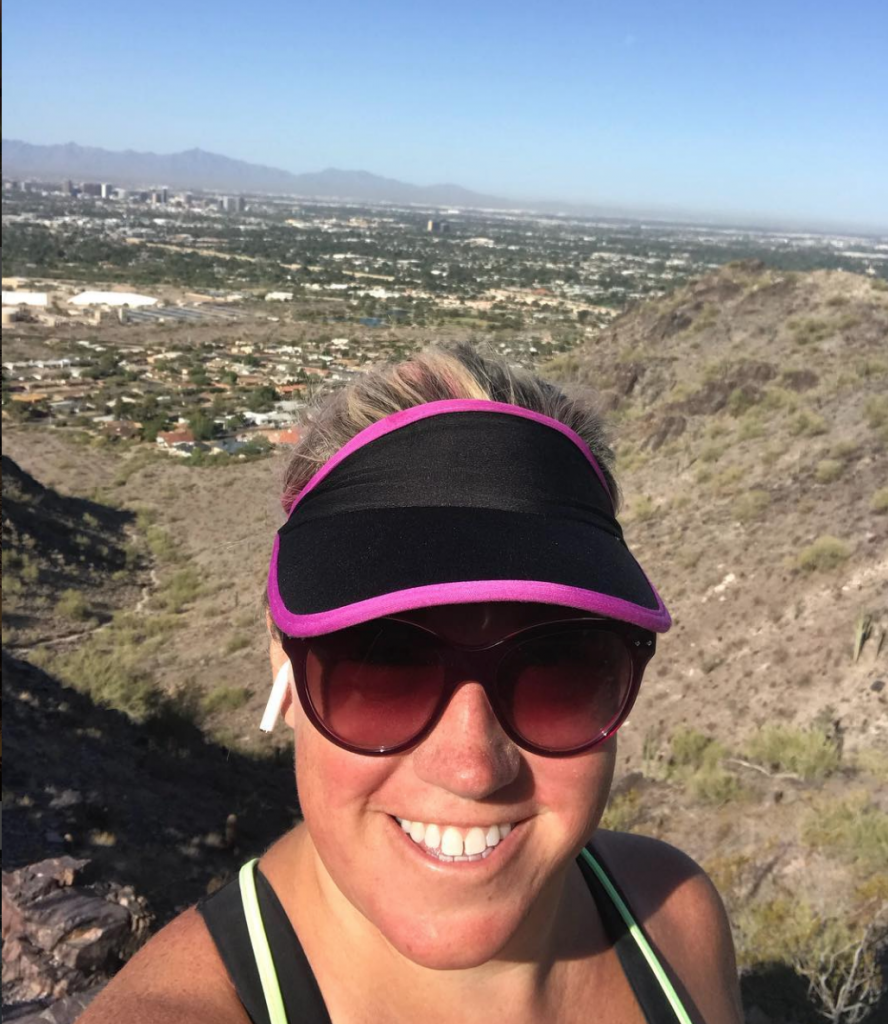 Hard hiking day at Piestewa Peak