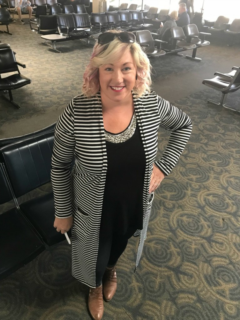 weight loss journey -outfit for travel