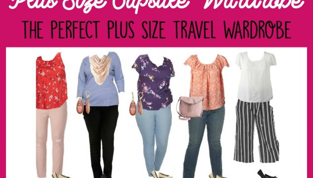 Spring Plus Size Capsule Wardrobe: The Perfect Plus Size Travel Wardrobe
