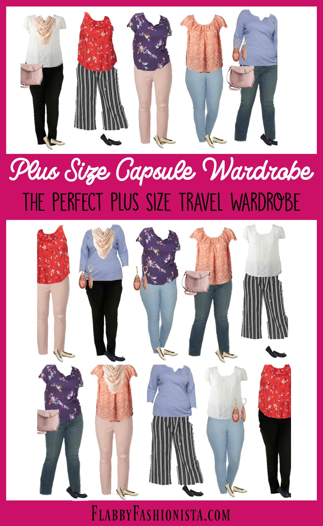 6360ed49da9 Spring Plus Size Capsule Wardrobe  The Perfect Plus Size Travel Wardrobe